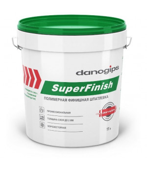 Шпатлевка DANOGIPS SUPERFINISH (Sheetrock)  18кг